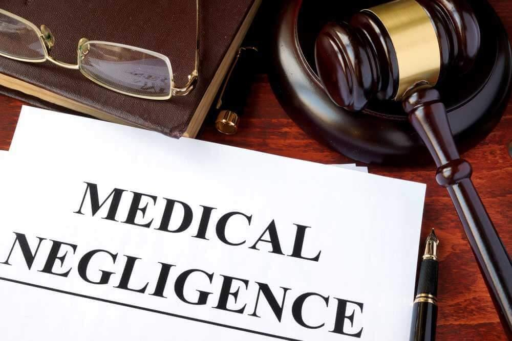 concept - medical negligence case-file