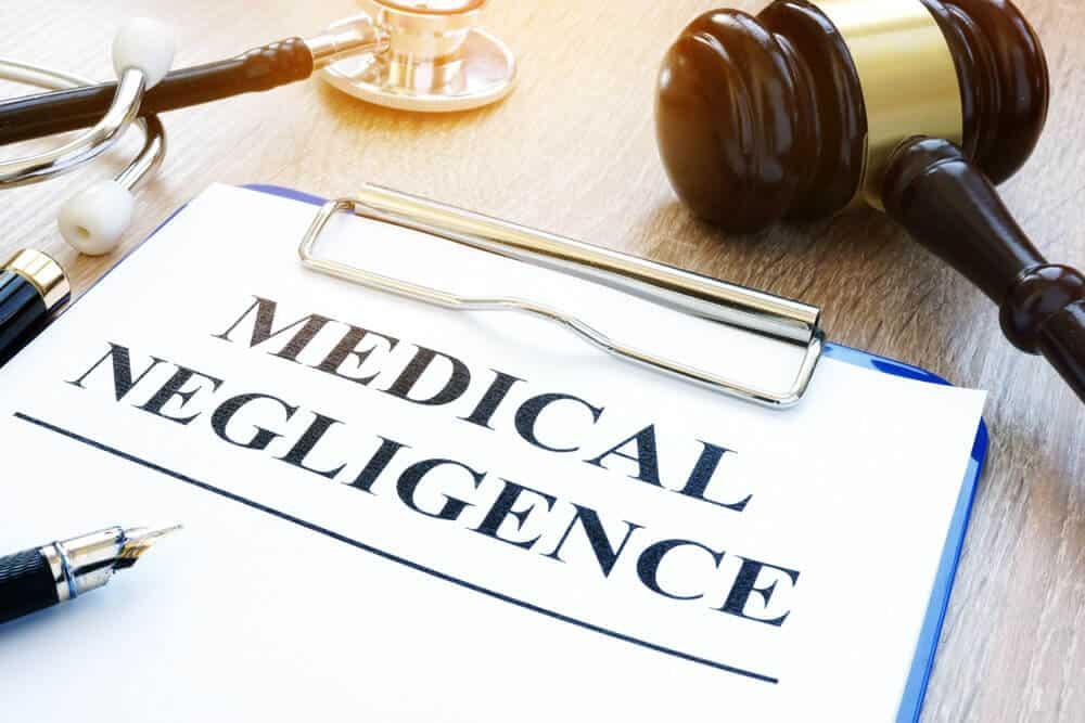 concept - medical negligence sepsis case-file