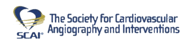 The Society for Cardiovascular Angiography and Interventions SCAI