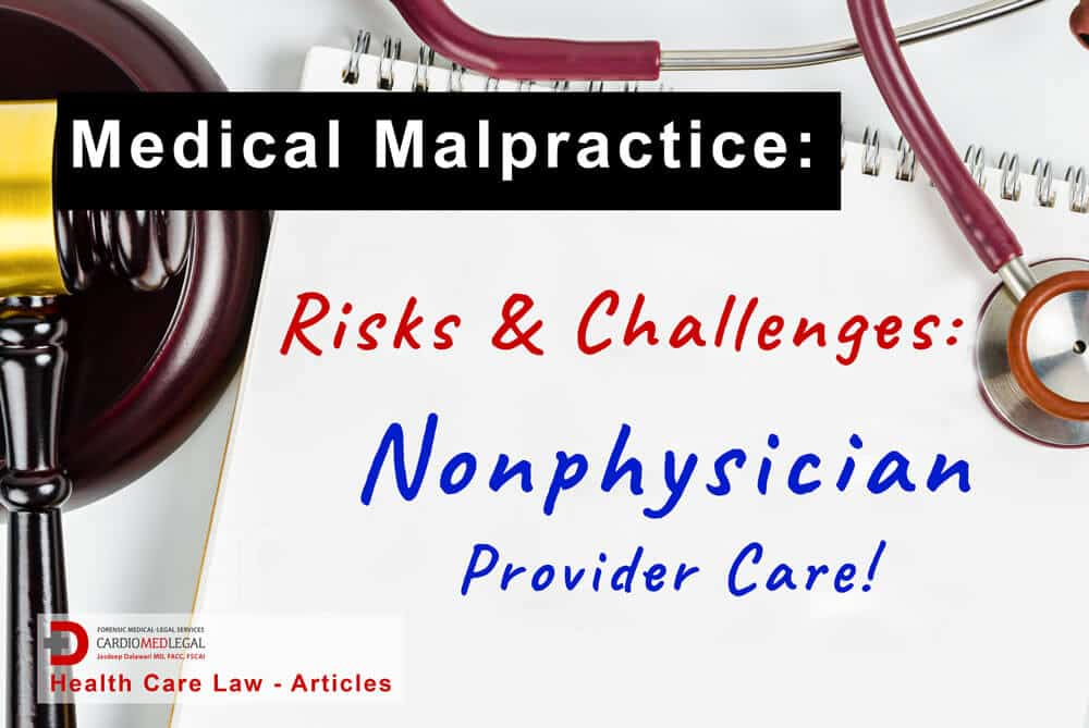 handwritten note risks & challenges of non-physician provider care.